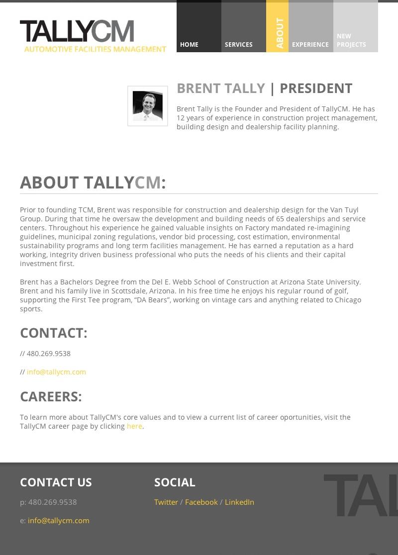 TallyCM Web Design
