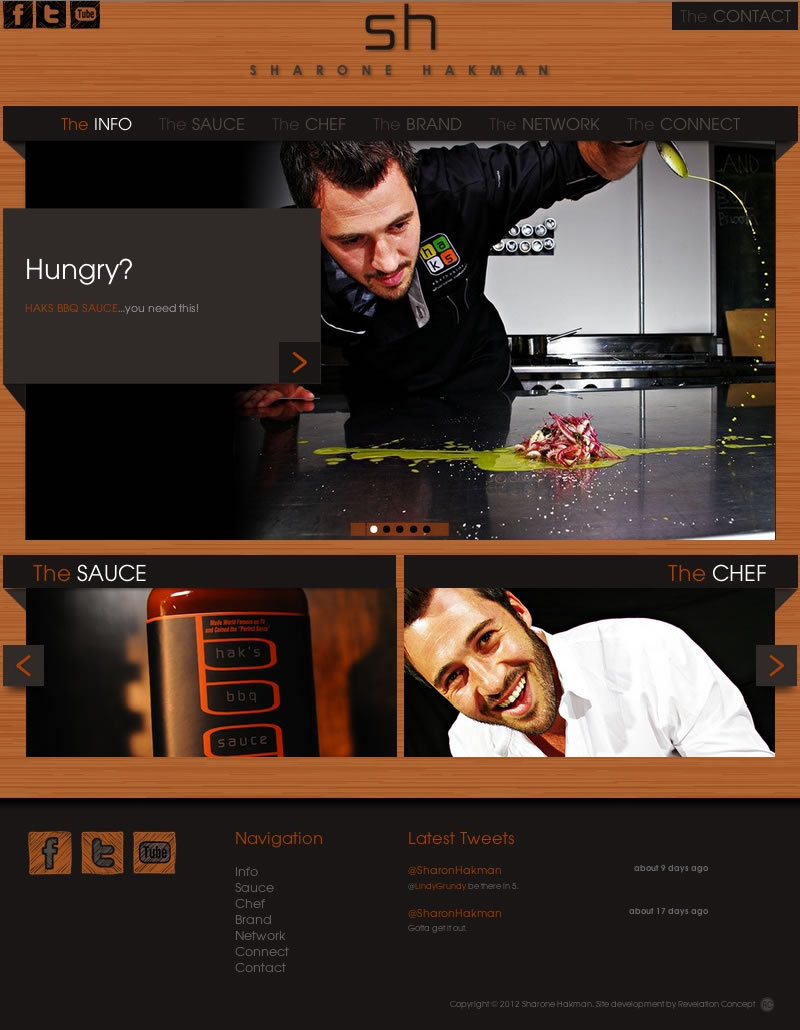 Sharone Hakman Web Design