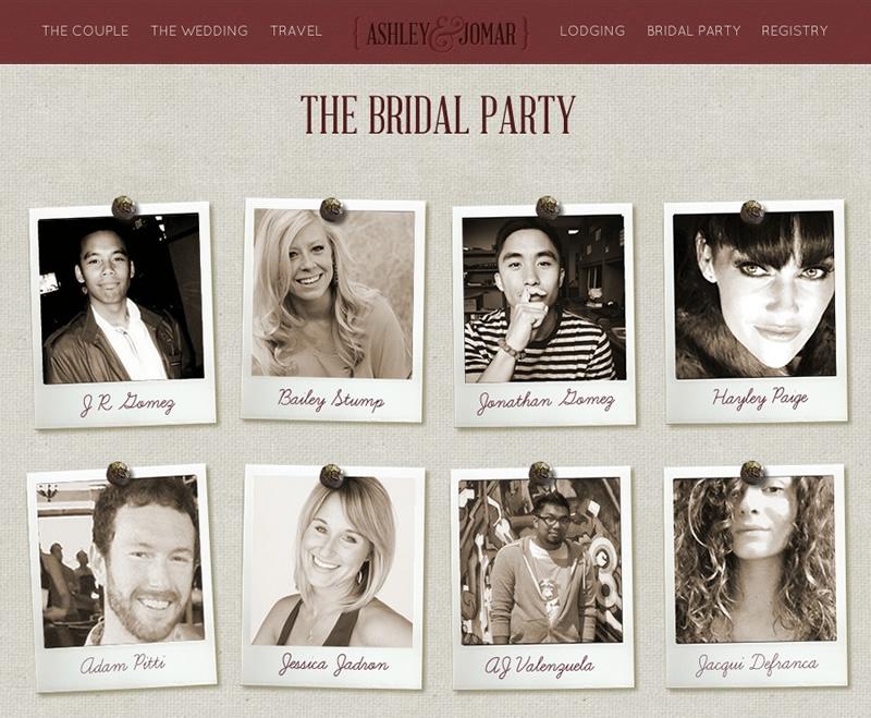Web Design - Ashley and Jomar